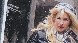 Ελένη Μενεγάκη: Για ψώνια μεσα στα χιόνια!!