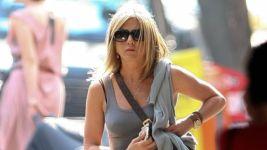 Jennifer Aniston Wears A See Through Skirt