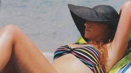 Σίσσυ Χρηστίδου: Διακοπές στη Χαλκιδική..
