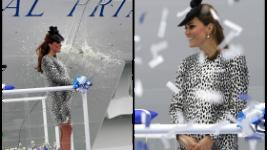 Δες την τελευταία εμφάνιση της Kate Middleton πριν γίνει μαμά..