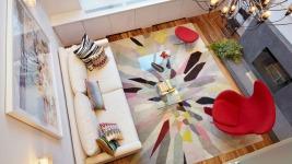 Ένα υπέροχο χρωματιστό διαμέρισμα στο Μανχάταν (Δες φωτό)
