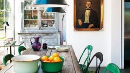 Θέλεις να βάλεις χρώμα στην κουζίνα σου; Πάρε ιδέες παρακάτω..