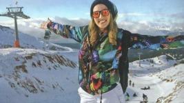 Η Κωνσταντίνα Σπυροπούλου κάνει σκι με την αδερφή της!
