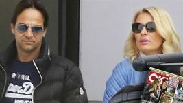 Ελένη Μενεγάκη: Σε parking σκαφών μαζί με τον Ματέο!
