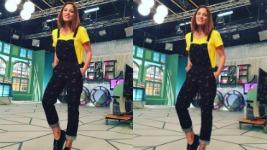 Μαίρη Συνατσάκη: Το Τέλειο Look για Βόλτα!