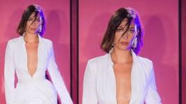 Bella Hadid: Περπάτησε στην Πασαρέλα του Brandon Maxwell και Εντυπωσίασε (NYFW)