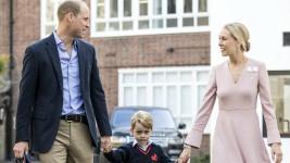 Πρίγκιπας George: Πρώτη Μέρα στο Σχολείο με τον Μπαμπά του!