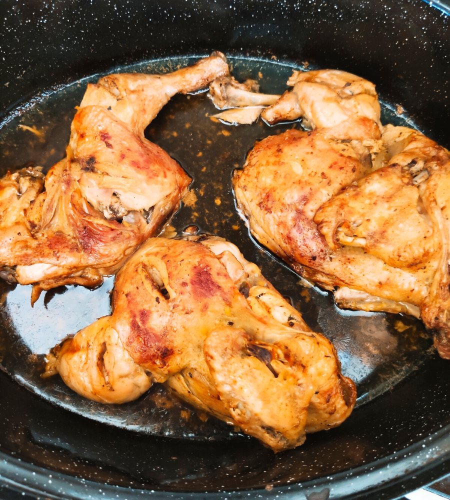 τραγανό κοτόπουλο